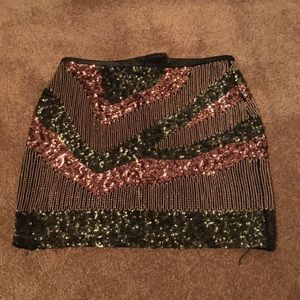 Fun and sparkly skirt